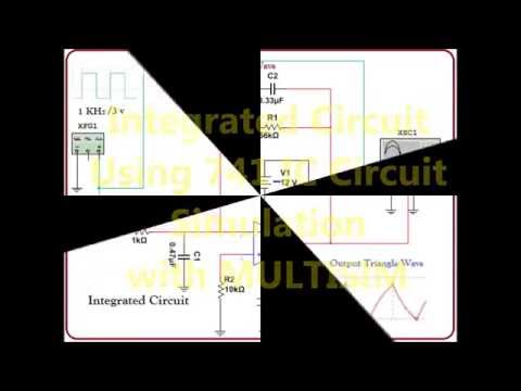 Integrator Circuit Simulation in MULTISIM