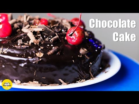 Chocolate Cake Recipe Without Condensed Milk | Eggless Cake in Cooker