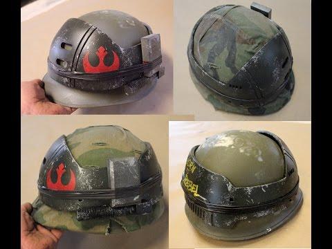 Rebel Soldier helmet armor prop - Lifesized Rogue One