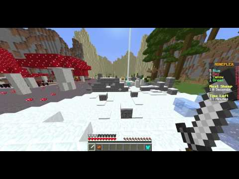 Minecraft - Mineplex - Sheep Quest - Hacker - Fly - FallingTitan1