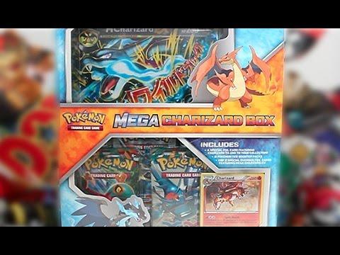 Opening A Pokemon Mega Charizard X Box!