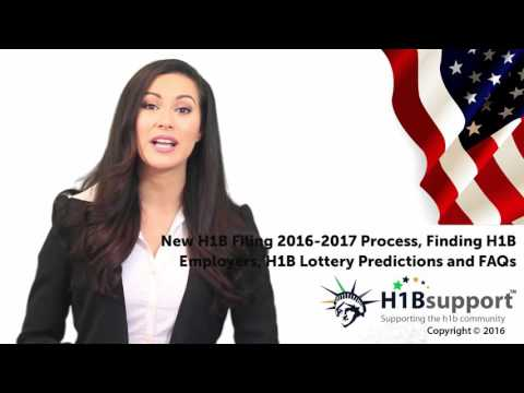 H1B 2016-2017 Application Process, Finding H1B Employers and Lottery Predictions | #H1B Visa Process