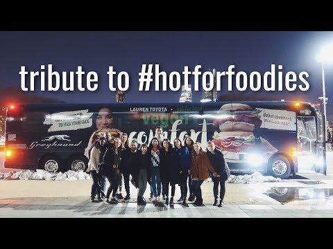 TRIBUTE TO #HOTFORFOODIES | THE #HOTFORFOODBOOKTOUR