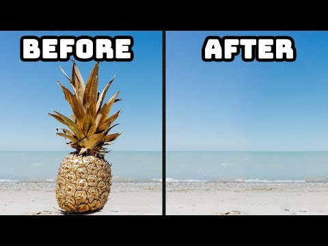 Remove Objects From Images Like Magic! - No Photoshop!