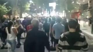 MANIFESTAÇÃO na ARGENTINA contra REFORMA DA PREVIDÊNCIA nesta madrugada.