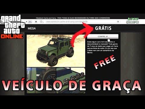 CARRO DE GRAÇA NO GTA 5 ONLINE, APRENDA COMO CONSEGUIR (PS3,PS4,XBOXONE,360,PC)