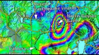 Yellowstone Supervolcano: Earthquake Swarm, New Map Shows Ground Deformation