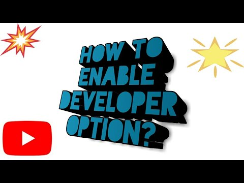 How To Enable Developer Option In Any Android Phones