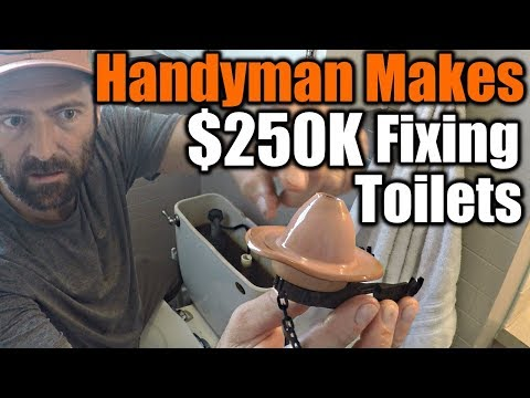 Handyman Makes $250,000 Fixing Toilets | THE HANDYMAN |