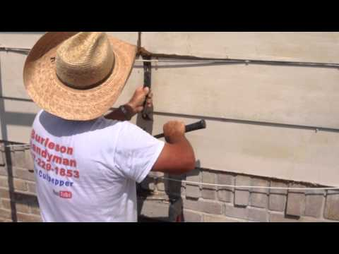 Burleson Handyman How to patch lap siding