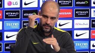 Pep Guardiola Pre-Match Press Conference - Manchester City v Tottenham - Embargo Extras