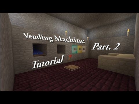 Minecraft Vending Machine Tutorial: Part 2