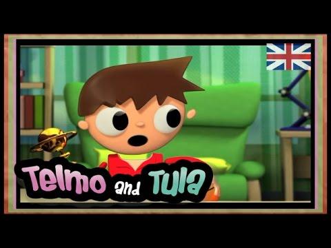Telmo and Tula - How to make Photo frame - handicrafts, hand made present, cartoon