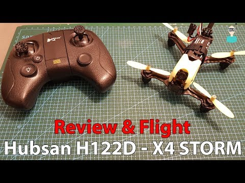 Hubsan H122D X4 STORM - Mini Brushed Quadcopter