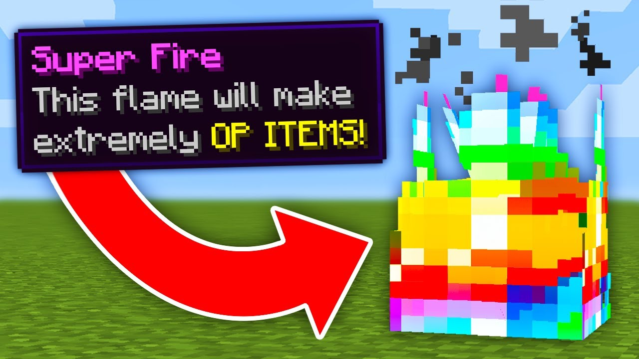 Minecraft, But There Are Custom Fires...