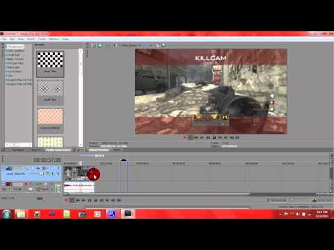 How To Make Your Video Fast/Slow Motion In Sony Vegas 10 or 9