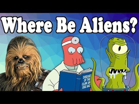 Where Be Aliens?