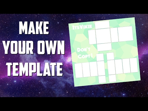 How To Make Your Own Roblox Shirt Template!