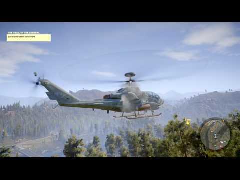 Broken helicopter