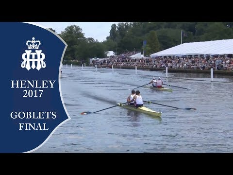 Goblets Final - Dunkley-Smith & Booth v Onfroy & Onfroy | Henley 2017