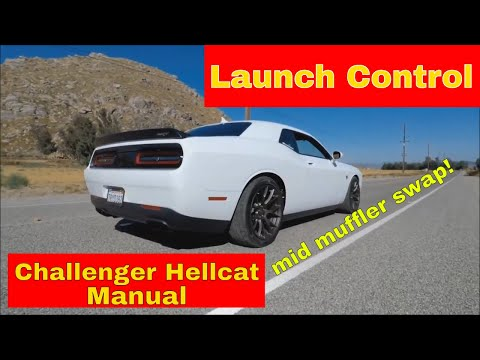 Hellcat Manual Launch Control and Muffler Mod \ DYNOMAX