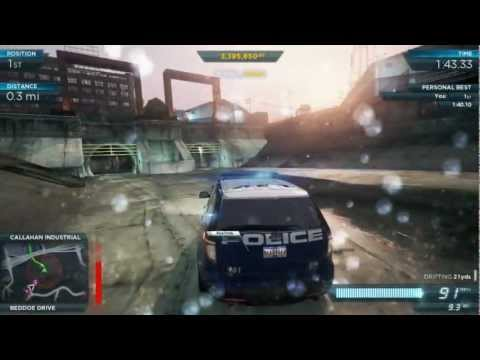 NFS Most Wanted 2012: Police Ford Explorer SUV Interceptor Pro Mods | Most Wanted #6 Mclaren MP4-12c