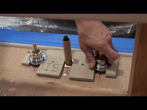 How to Mount Dec Tub Faucet. Bathroom Remodeling. Part 13.