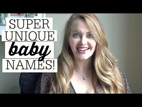 UNIQUE BABY NAMES // COLLAB WITH THE WERNERS FAMILY VLOGS
