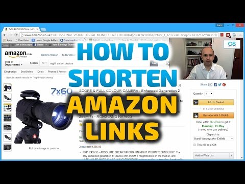 Amazon SEO - How Amazon Links Really Work - No Need for Bitly, TinyURL etc