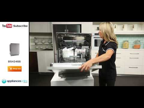Stylish Asko Dishwasher D5434SS reviewed by appliance expert - Appliances Online
