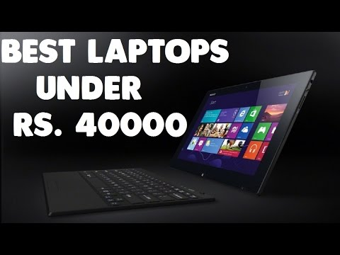 Best Laptops Under Rs. 40000 [New Laptops]   #1