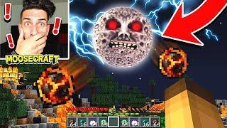 SURVIVING THE LUNAR MOON IN MINECRAFT! (NIGHT 1)