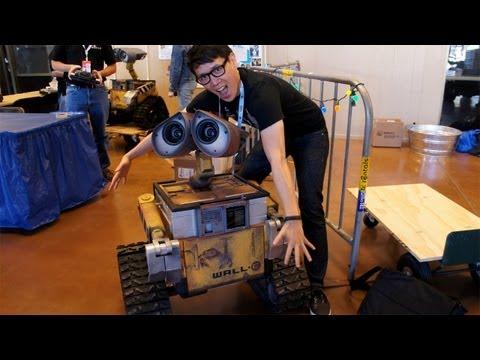 Maker Faire 2012: The Wall-E Builders Club