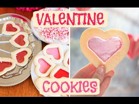 Valentine's Jolly Rancher Window Cookies!