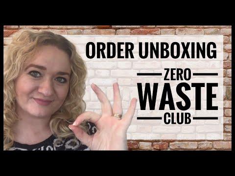 Zero Waste Club Order Unboxing - Zero Waste Grocery Shopping UK - Living Plastic Free