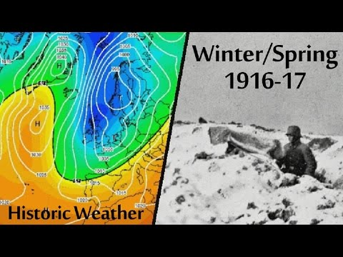 Historic Weather - Winter/Spring 1916-17
