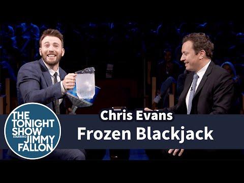 Frozen Blackjack With Chris Evans