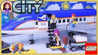 LEGO City Airport Passenger Terminal Plane Build Review Silly Play - Kids Toys