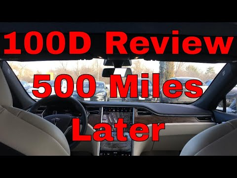 Tesla 100D Review 500 Miles Later - BRAND NEW CAR   Part 2