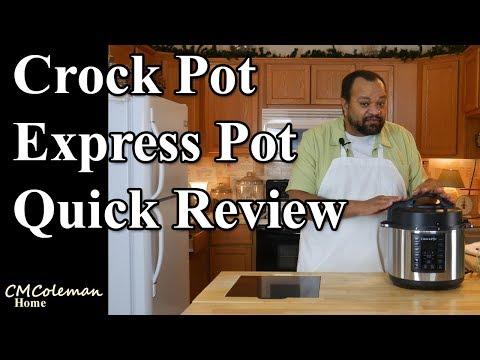 Crock Pot Express Crock Quick Review
