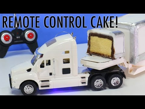 REMOTE CONTROL TRUCK CAKE - How to make a Moving RC Truck CAKE - YouTube