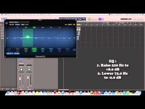 Logic Pro X : How to make a Big EDM/Dubstep Drum Beat