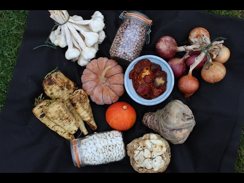 Best and easy methods for storing veg through winter, apples too, from harvests in summer and autumn