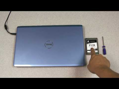 Corsair SSD Install on Dell Inspiron Laptop
