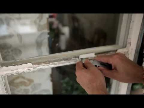 Painting windows -- step by step