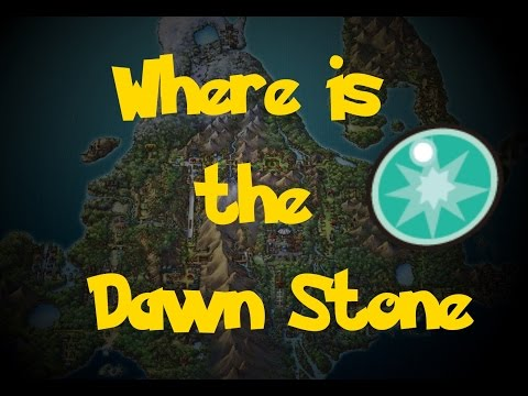 Where Is: The Dawn Stone (Pokemon Diamond/Pearl/Platinum)
