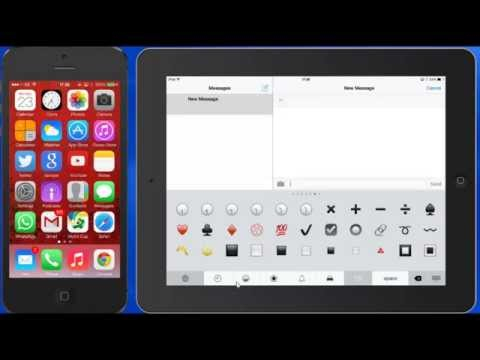 How to Enable the Emoji Emoticon Keyboard on Iphone Ipad