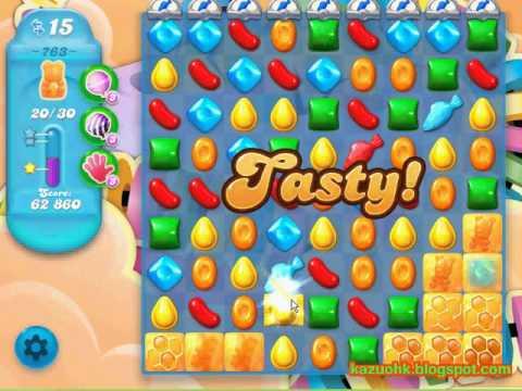 Candy Crush Soda Saga - Level 763 (3 stars, No boosters)