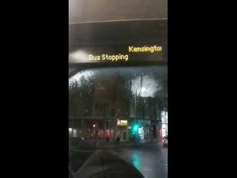 Bus da Hammersmith a Paddington !