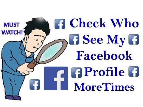 How To Check Who See My Facebook Profile in 2 minutes